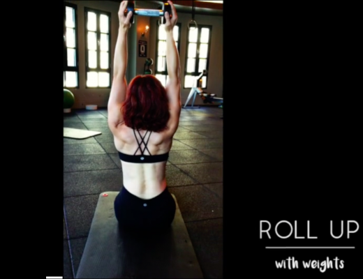 Roll-Up with Weights by Laura Dahl